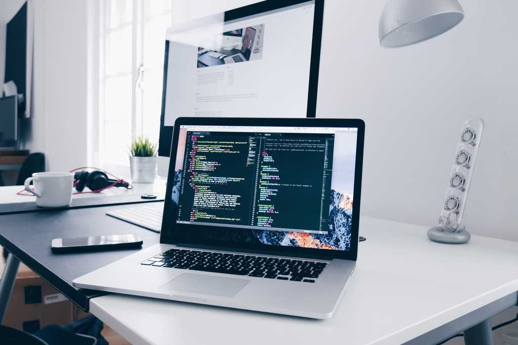 Image of coding on a mac - Christopher Gower / Unsplash
